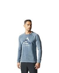 Pull bleu clair adidas