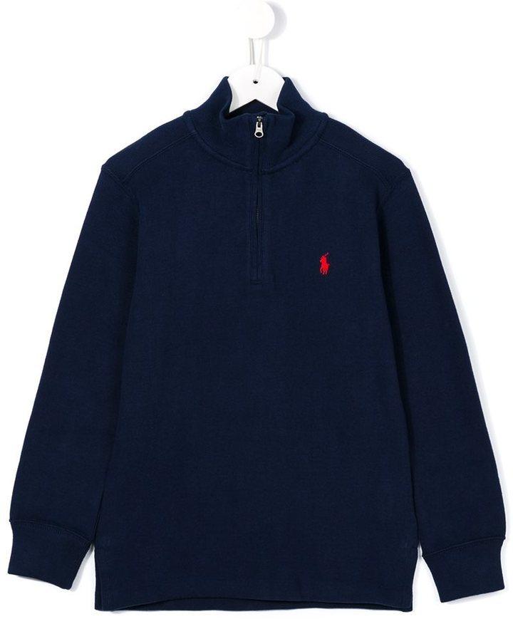 Pull bleu marine Ralph Lauren