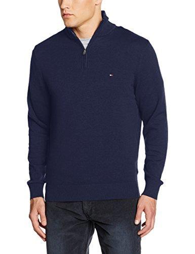 Pull bleu marine Tommy Hilfiger