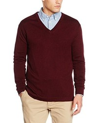 Pull bordeaux Benetton