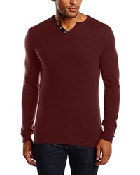 Pull bordeaux Harris Wilson