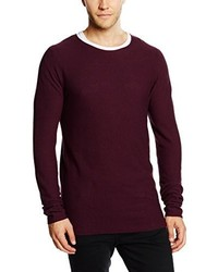 Pull bordeaux Shine Original