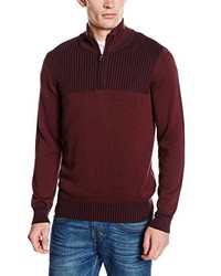 Pull bordeaux Tom Tailor