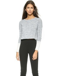 Pull court gris Top Secret