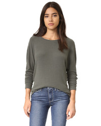 Pull en cachemire olive Cupcakes And Cashmere