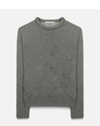 Pull en laine gris Christopher Kane