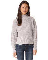 Pull en laine gris Rebecca Minkoff