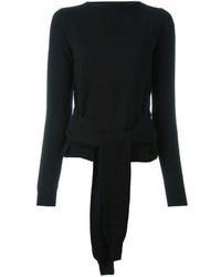 Pull en laine noir MM6 MAISON MARGIELA