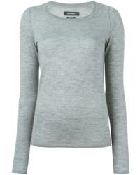 Pull en soie gris Isabel Marant