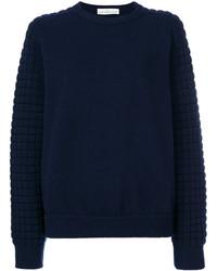 Pull en tricot bleu marine Golden Goose Deluxe Brand