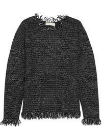 Pull en tricot gris foncé MICHAEL Michael Kors