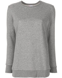 Pull en tricot gris RED Valentino