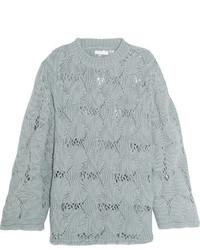 Pull en tricot gris See by Chloe