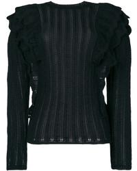 Pull en tricot noir IRO