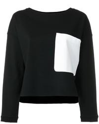 Pull géométrique noir Dondup
