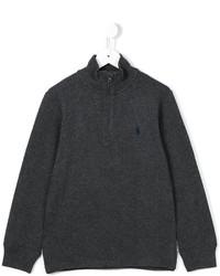 Pull gris foncé Ralph Lauren
