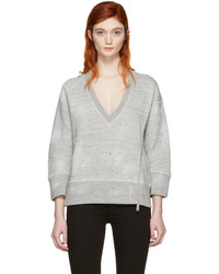 Pull gris Dsquared2