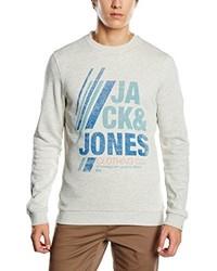 Pull gris Jack & Jones