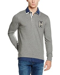Pull gris Tommy Hilfiger