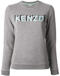 Pull imprimé gris Kenzo