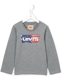 Pull imprimé gris Levi's