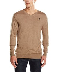 Pull marron clair Hackett London