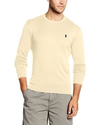 Pull marron clair Polo Ralph Lauren