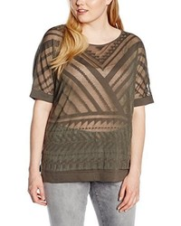 Pull marron Triangle by s.Oliver