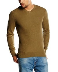 Pull olive TOMMY HILFIGER MENSWEAR