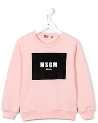 Pull rose MSGM