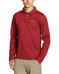 Pull rouge Columbia