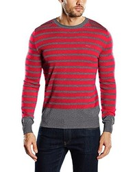 Pull rouge LTB