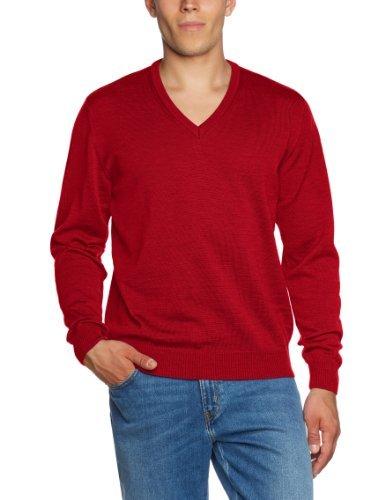 Pull rouge Maerz