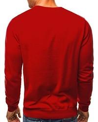 Pull rouge OZONEE