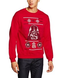 Pull rouge Star Wars