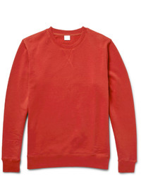 Pull rouge Sunspel