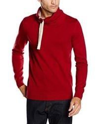 Pull rouge Tom Tailor