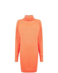 Pull surdimensionné en tricot orange Christopher Kane