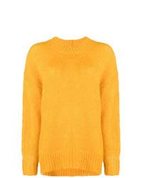 Pull surdimensionné jaune Isabel Marant