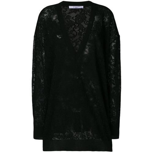 e0e7b86d197 ... Pull surdimensionné noir Givenchy ...
