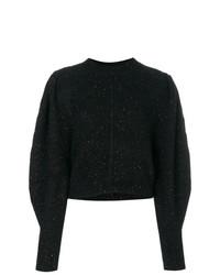 Pull surdimensionné noir Isabel Marant
