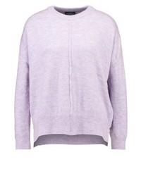 Pull surdimensionné violet clair Topshop