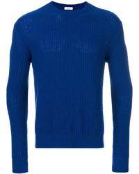 Pull torsadé bleu Valentino