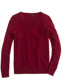 Pull torsade bordeaux original 1333275