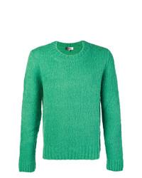 Pull torsadé vert Isabel Marant