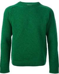 Pull torsadé vert Valentino