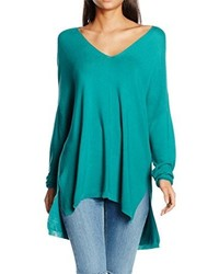 Pull turquoise Ange