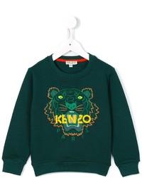 Pull vert foncé Kenzo