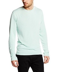 Pull vert menthe Solid