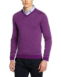 Pull violet Benetton